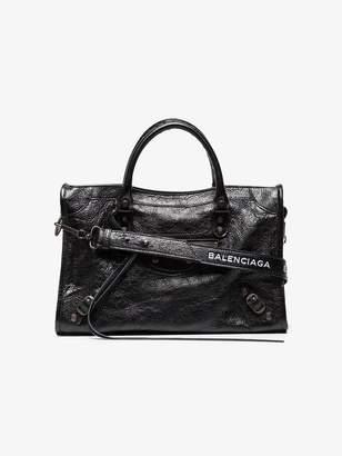 Balenciaga Black Classic City Small Leather Tote Bag