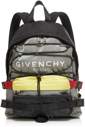 Givenchy Urban Backpacks Color-Blocked Shell Backpack