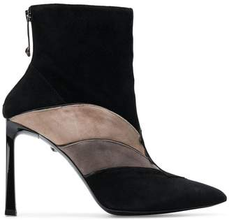 Just Cavalli panelled ankle boots