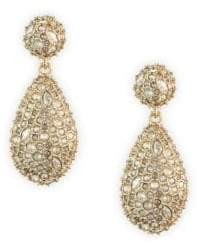 Alexis Bittar Swarovski Crystal Pod Drop Earrings