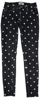 Paige Low-Rise Printed Jeans