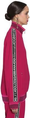Dolce & Gabbana Logo Bands Cady Sweatshirt