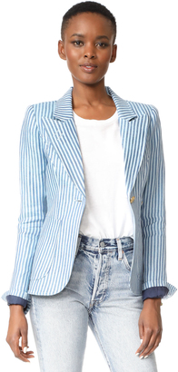 SMYTHE Patch Pocket Dutchess Blazer $695 thestylecure.com