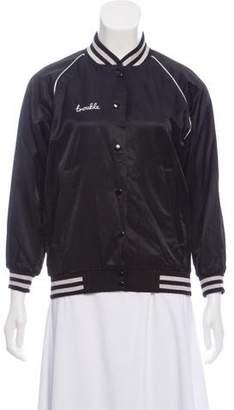 R 13 Trouble Bomber Jacket w/ Tags