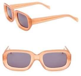 Illesteva 52MM Rectangle Sunglasses