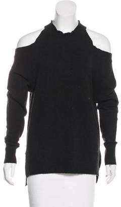 Sanctuary Cold-Shoulder Knit Sweater