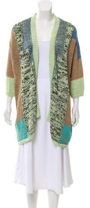 Etro Open Knit Longline Cardigan