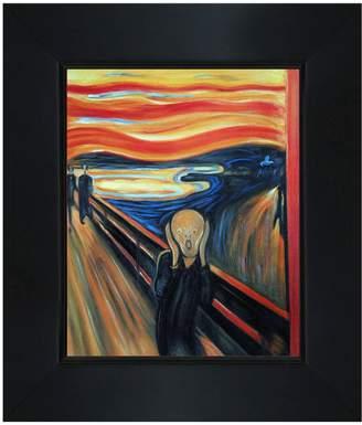 Overstock Art The Scream by Edvard Munch (Framed Canvas)