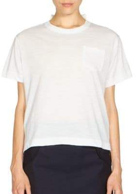 Sacai Lace-Back Tee