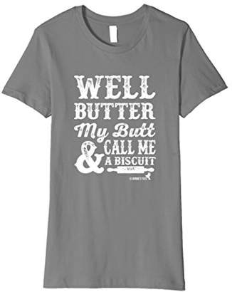 Butter Shoes Funny Humorous TShirt my Butt!