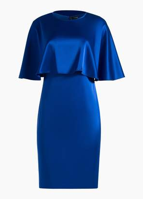 St. John Lightweight Liquid Satin Dress
