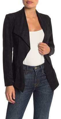 Catherine Malandrino Faux Suede Cascade Jacket (Petite)