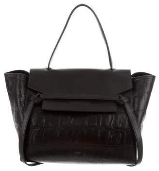 Celine Small Embossed Belt Bag