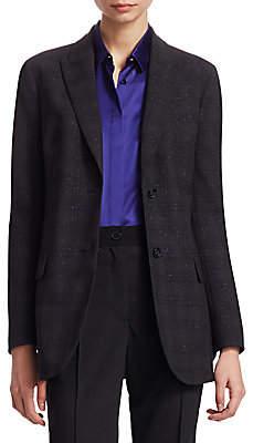 Akris Women's Flecked Wool Jacket