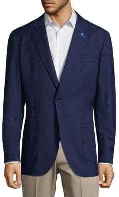 Tailorbyrd Mini Check Suit Jacket