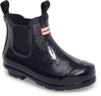Hunter Originals Glittery Waterproof Chelsea Boot