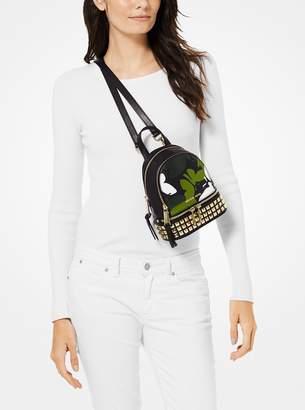 MICHAEL Michael Kors Rhea Mini Butterfly Camo Leather Backpack