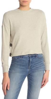June & Hudson Long Sleeve Button Top
