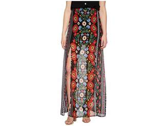 Show Me Your Mumu Mick Double Slit Skirt Women's Skirt