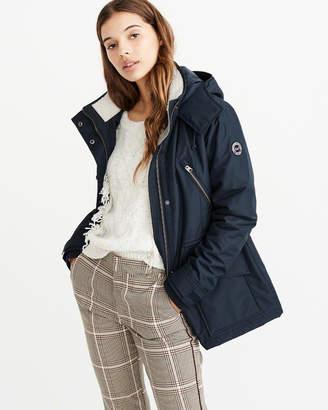 Abercrombie & Fitch Nylon Hardshell Jacket