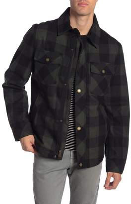Pendleton Hood River Wool Blend Water Resistant Shirt Jacket