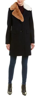 Sam Edelman Walker Wool-Blend Coat