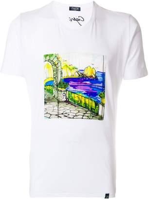 fe-fe printed T-shirt