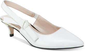 Nanette Lepore Nanette by Rhona Slingback Kitten Heels, Created for Macy's