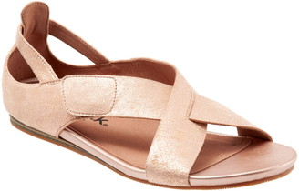 SoftWalk Camilla Cross Strap Sandal