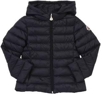 Moncler New Iraida Hooded Nylon Down Jacket