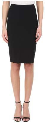 Prabal Gurung Stretch Wool Knee Length Skirt Women's Skirt