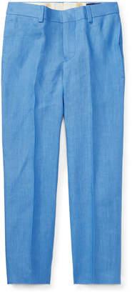 Ralph Lauren Woodsman Pleated Pants, Blue, Size 2-3