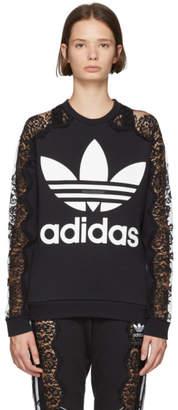 Stella McCartney Black adidas Edition Lace Sweatshirt