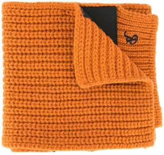 Raf Simons contrast stripe scarf