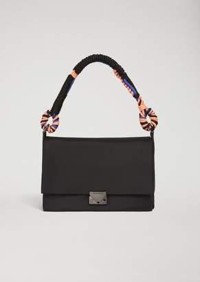 Emporio Armani Shoulder Bag In Technical Fabric