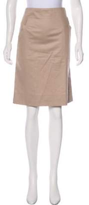 Celine Céline Pencil Knee-Length Skirt brown Céline Pencil Knee-Length Skirt