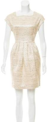 Steven Alan Square Neck Mini Dress