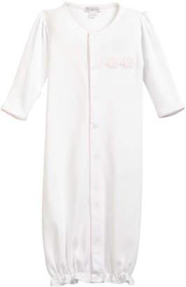 Kissy Kissy Trunk Mates Pima Convertible Gown, Size Newborn-S