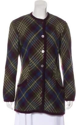 Missoni x Bonwit Teller Wool Button-Up Jacket