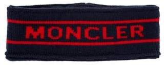 Moncler Logo Virgin Wool Headband w/ Tags