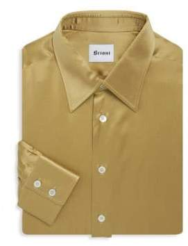 Brioni Silk Dress Shirt