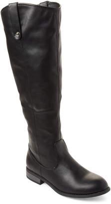 Wild Diva Lounge Black Oksana Riding Boots