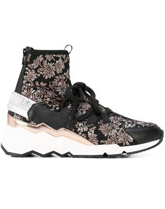 Pierre Hardy Comet Trek Up jacquard sneakers