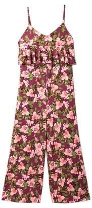 Poof Floral Jumpsuit (Big Girls)