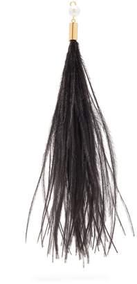 HILLIER BARTLEY Feather single earring charm