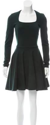Alexander McQueen Wool-Blend Dress