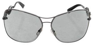 Gucci Tinted Chain-Link Sunglasses
