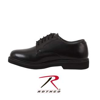 Rothco Military Uniform Oxford Leather Shoes, - Regular