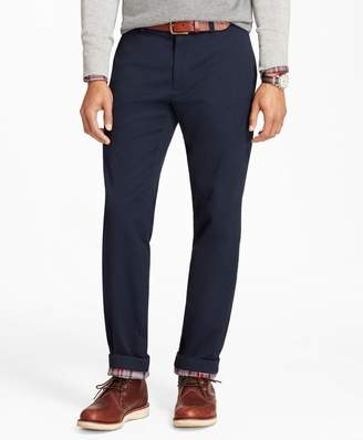 Brooks Brothers Flannel-Lined Chinos