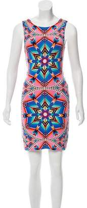 Mara Hoffman Abstract Mini Dress